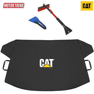 CAT Frost Guard Windshield Snow Cover + Motor Trend Ice Scraper / Snow Brush