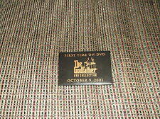 THE GODFATHER MOVIE PIN DATED OCTOBER 9 2001