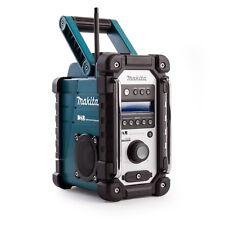 MAKITA DMR 104 DAB Digital Radio sitio de trabajo en azul a estrenar sustituye BMR 104