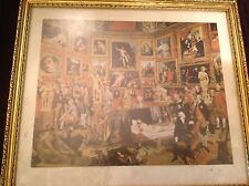 Tribunal of the Uffizi vintage print, beautiful, Johann Zofanny