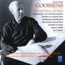 GOOSSENS Orchestral Works: 3 ABC CDs. HANDLEY cond 2 Symphonies, concerto, more