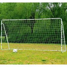 Soccer Goal Set of 2 Portable Football Net Training Outdoor Sports Goals 12x6 Ft