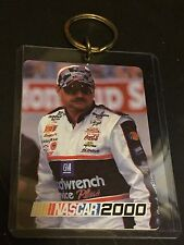 DALE EARNHARDT Nascar 2000 Collectible Trading Card KEY CHAIN  #3 RACING Legend
