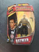 DC COMICS MULTIVERSE SERIES BATMAN UNMASKED VARIANT FIGURE MATTEL