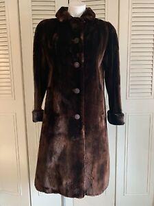 Flemington Fur Seal Fur Coat with exquisite liner, S - Excellent
