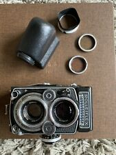 rolleiflex 3.5f Type III Almost Mint With Amazing Prism Viewfinder And Filters.