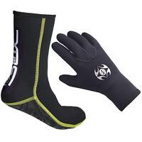3mm Neoprene Diving Socks Surfing Snorkeling Scuba Swimming Gloves for Adults