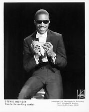 "Stevie Wonder 10"" x 8"" Photograph no 12"