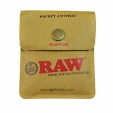 Raw Classic Pocket Ash Tray Smoking Accessories Rolling Paper Genuine**