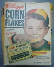 1950's Kellogg's Corn Flakes Special Coupon Empty Cereal Box