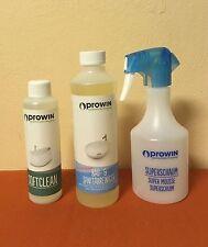 proWIN SAUBERES BAD -- Bad- und Sanitärreiniger + Softclean + Superschaumflasche