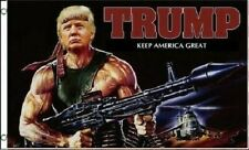 Donald Trump Flag FREE SHIPPING BAZOOKA 3x5 Foot Digital Print Banner New Flags