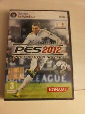 PES 12 Pro Evolution Soccer 2012 PC Sealed Italian edition