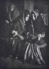 Women at mass, Spain 1924 by Jose Ortiz Echague 1886-1980