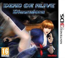 DEAD OR ALIVE DIMENSIONS PER NINTENDO 3DS NUOVO SIGILLATO DA NEGOZIO ITALIANO!!!
