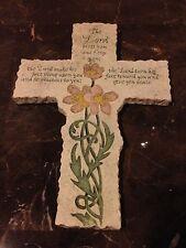 Ceramic Cross with inspirational Prayer