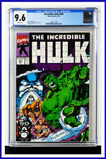 Incredible Hulk #381 CGC Graded 9.6 Marvel May 1991 White Pages Comic Book