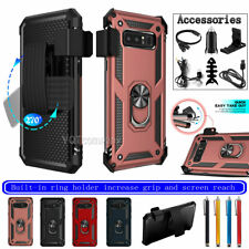 Phone Case Magnetic Ring For Samsung Galaxy Note 8 Cover With Clip/Accessory