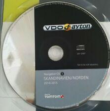 Renault Carminat 2000-2006 Navigation CD VDO Dayton Skandinavien 2014/2015