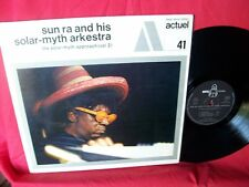 SUN RA Solar-myth approach Vol 2 LP 1970 France Actuel Original First Pressing