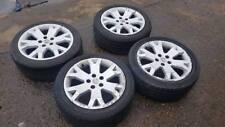 "Zafira GSI Turbo Snowflake Alloy Wheels 17"" Set of 4 2003 Standard 5X110"