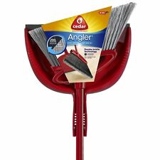 O-Cedar Angler Angle Broom With Dust Pan Mops Brooms Household Supplies Cleaning