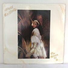 """Patti LaBelle – The Spirit's In It (Vinyl, 12"""", LP, Album, Pitman Pressing )"""