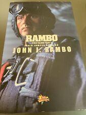 Hot Toys Rambo Anger Escape 1/6 scale Figure John J. Rambo HALO ver