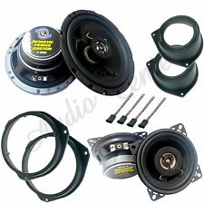 KIT A40 ALTOPARLANTI OPEL CORSA D ANT+POST CASSE COASSIALI 165mm + 10mm