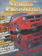 Street Machine Magazine December 1981