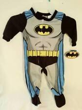BATMAN BLANKET SLEEPER FOOTED PAJAMAS PJS DC COMICS INFANTS (12M) FREE SHIPPING