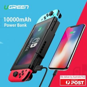 Ugreen Nintendo Switch 10000mAh Power Bank Case Charger Battery 5V 2A