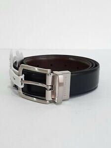 Perry Ellis Portfolio Men's Black/Brown Reversible Belt Sz 34
