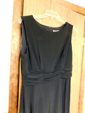 PERFECT BLACK DRESS Size 16  Travel Cruise Formal Wedding ~ NEW w TAG  $89