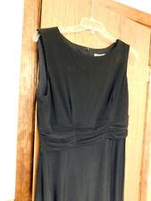PERFECT BLACK DRESS Size 16  Travel Cruise Formal Wedding ~ NEW w TAG  $89