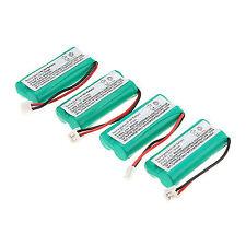 Pro 4pcs 800mAh Ni-MH Cordless Phone Battery for Uniden BT-1011 BT-1018 BT101