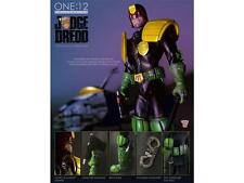 Mezco LTD ED Licensed DELUXE 1:12 JUDGE DREDD Comic Accurate ACTION FIGURE Set