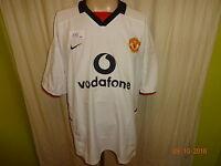 """Manchester United Original Nike Auswärts Trikot 2003/04 """"vodavone"""" Gr.XL"""