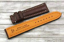 Cinturino Breitling Navitimer 22/18mm Vera Pelle Brown Ottima Qualità Sportivo