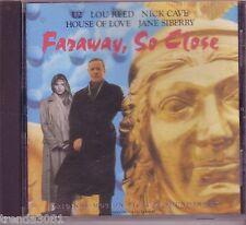 Faraway, So Close Original Soundtrack CD Classic Hits Johnny Cash U2 Lou Reed
