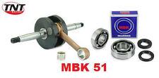 Vilebrequin Vilo Racing MBK 51 + Roulement Joint spy Embiellage spi NEUF Dakota