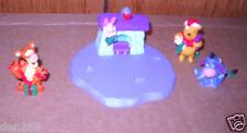 #8367 New No Box Hallmark 1999 Winnie the Pooh 4 Piece Holiday Set