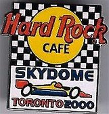 Hard Rock Cafe SKYDOME TORONTO 2000 Molson INDY RACE CAR Flag Logo PIN HRC 10278