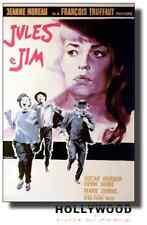 Poster Jules e Jim di F. Truffaut Bozzetto di De Seta Locandina 70x100