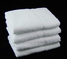 Hotel Quality White Hand Towels 500 GSM 100 Cotton Pack of 6