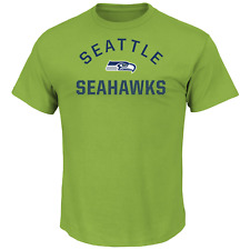 Men's Majestic NFL For All Time Short-Sleeved Tee Seahawks M #NINGC-279