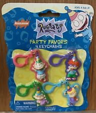 RUGRATS Birthday Party Favors Character Key Chains Nickelodeon 1998 Vintage NOS
