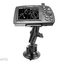 RAM Suction Cup Mount for Garmin 175,195,196,276,295, StreetPilot, Fishfinder