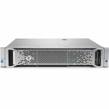 HPE PROLIANT DL380 G9 Gen9 SERVER 2 x E5-2620V4 64GB 1 X 480gb ssd Rails