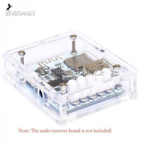 5V USB Bluetooth Audio Receiver Board Stereo Musik Module + Acryl Box DIY Kits
